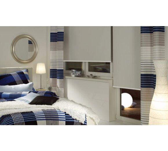 gardinia thermo rollo struktur wei g nstig kaufen. Black Bedroom Furniture Sets. Home Design Ideas