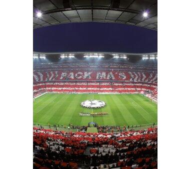 AS Creation Vlies-Fototapete FCB STADION CHOREO 119116, 4...