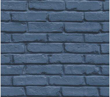 AS Creation Vliestapete Attractive 358561 blau, 10,05x0,53 m