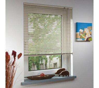 Lichtblick Jalousie Aluminium - Beige, perforiert 90 cm x...
