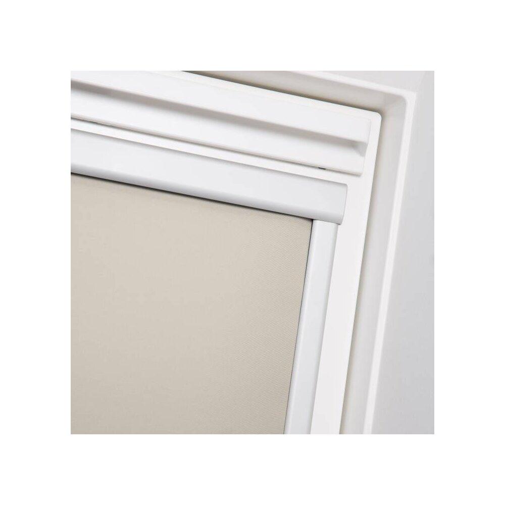 Dachfenster rollo skylight creme f06 wohnfuehlidee - Dachfensterrollo skylight ...