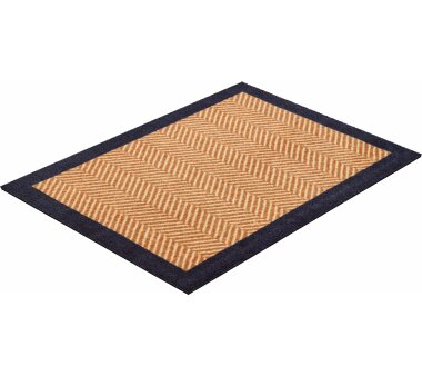 GRUND Allroundteppich-Serie HERRINGBONE, Farbe beige
