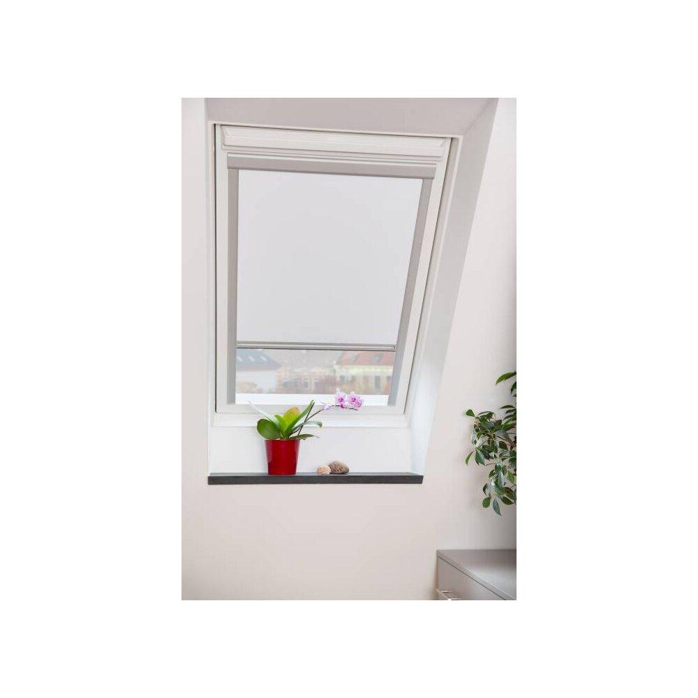 Dachfenster rollo skylight wei m08 wohnfuehlidee - Dachfensterrollo skylight ...