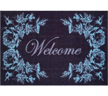 GRUND Allroundteppich-Serie WELCOME, Farbe schwarz