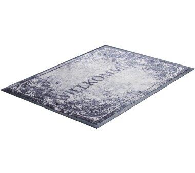 GRUND Allroundteppich-Serie WILLKOMMEN, Farbe schwarz