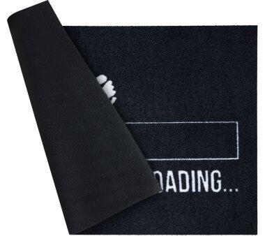 GRUND Fußmatte LOADING, Farbe schwarz