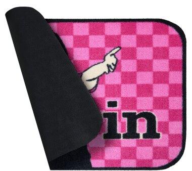 GRUND Fußmatte COME IN, Farbe rosa