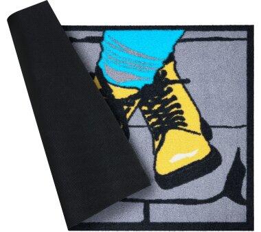 GRUND Fußmatte BOOTS, Farbe grau