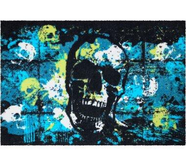 GRUND Fußmatte MORMOR, Farbe türkis
