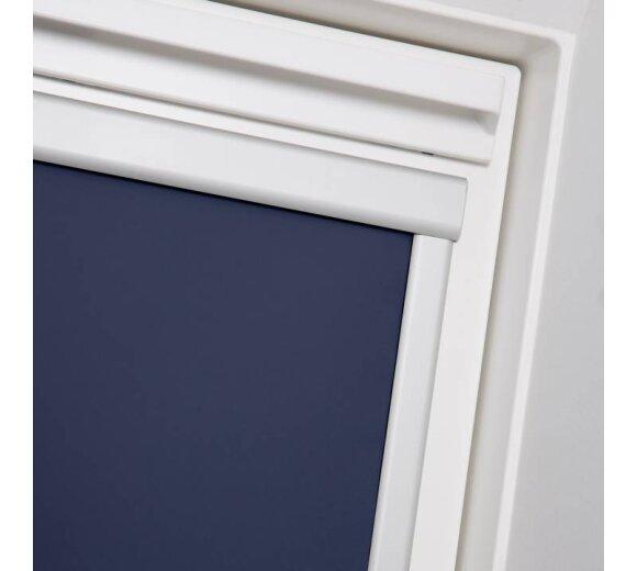 dachfenster rollo skylight blau s06 wohnfuehlidee. Black Bedroom Furniture Sets. Home Design Ideas