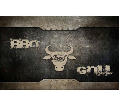 Barbecue-Matte STIER, Höhe 3 mm, Farbe anthrazit,...