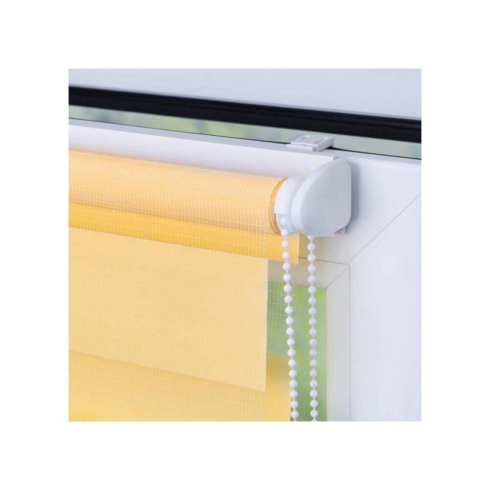 doppelrollo gelb 70x150 cm g nstig bei wohnfuehlidee. Black Bedroom Furniture Sets. Home Design Ideas