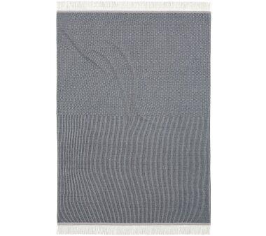 Bocasa Plaid Lines dark grey, Größe 130x170 cm