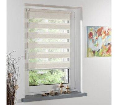 lichtblick klemmfix duo rollo natur 95x150 cm kaufen. Black Bedroom Furniture Sets. Home Design Ideas