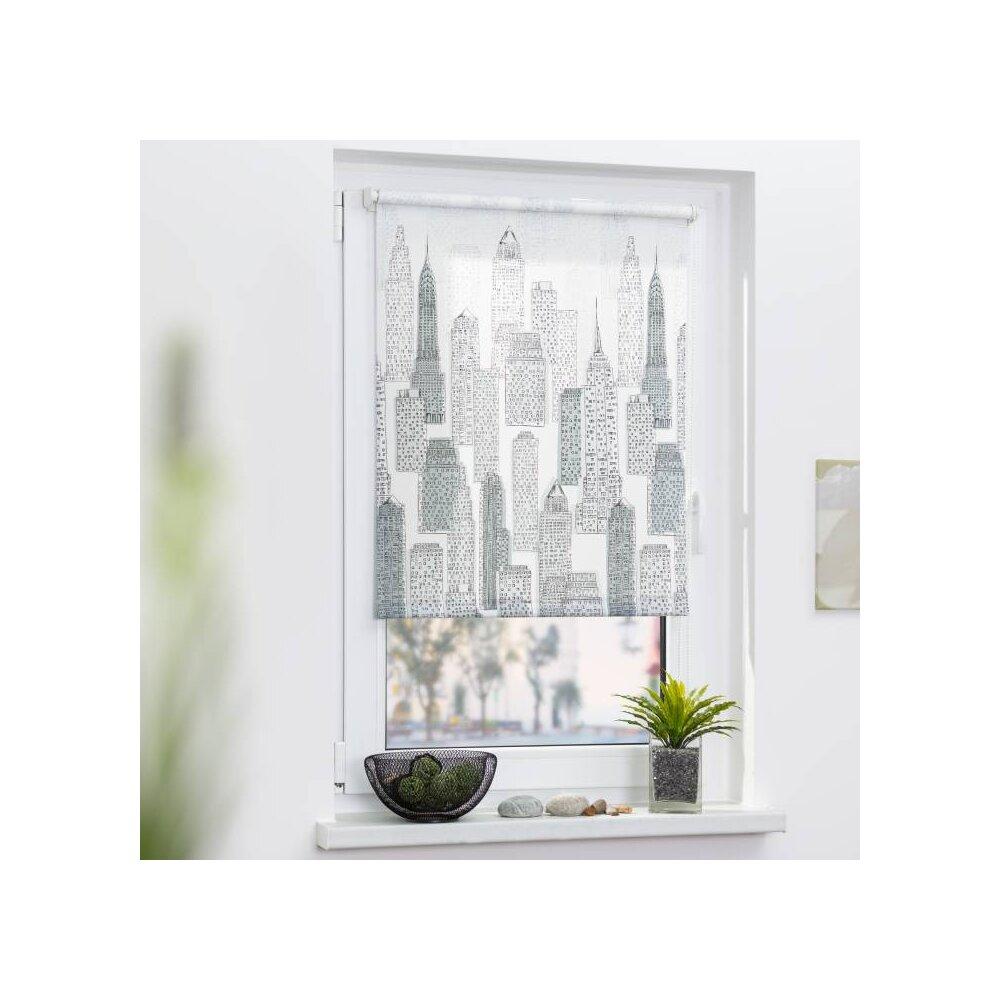 rollo seitenzugrollo big city 90x180 cm kaufen. Black Bedroom Furniture Sets. Home Design Ideas