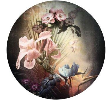 Vlies-Fototapete KOMAR, DOTS FLEMISH FLOWERS,...