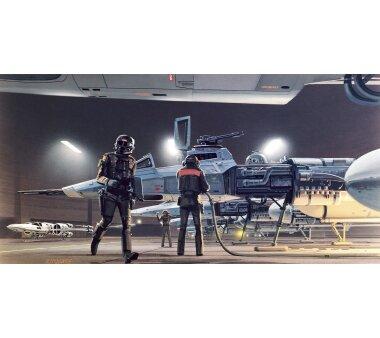 Vlies-Fototapete KOMAR STAR WARS CLASSIC RMQ YAVIN...