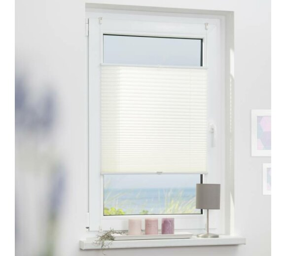 plissee faltstore braun 80x210 cm verspannt. Black Bedroom Furniture Sets. Home Design Ideas