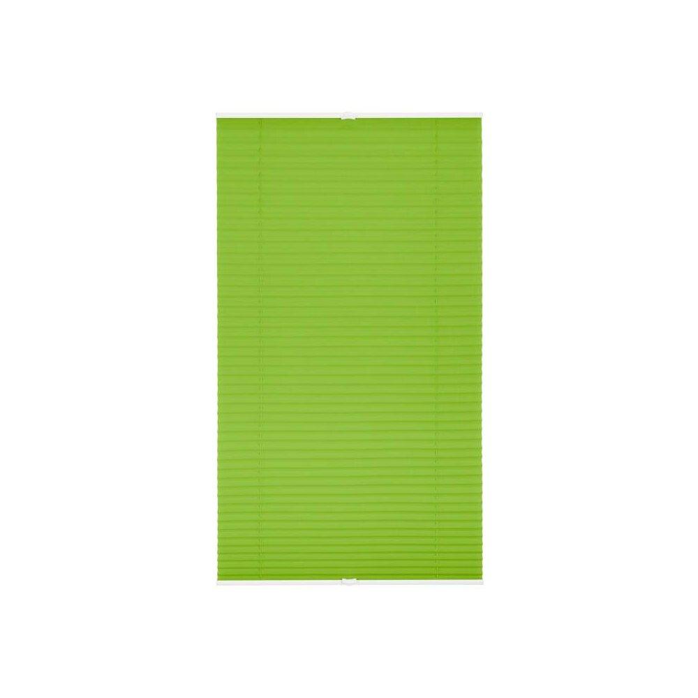 plissee faltstore gr n 80x210 cm verspannt. Black Bedroom Furniture Sets. Home Design Ideas