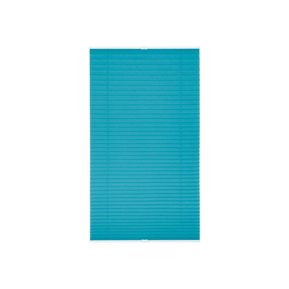 plissee faltstore blau 90x210 cm verspannt. Black Bedroom Furniture Sets. Home Design Ideas