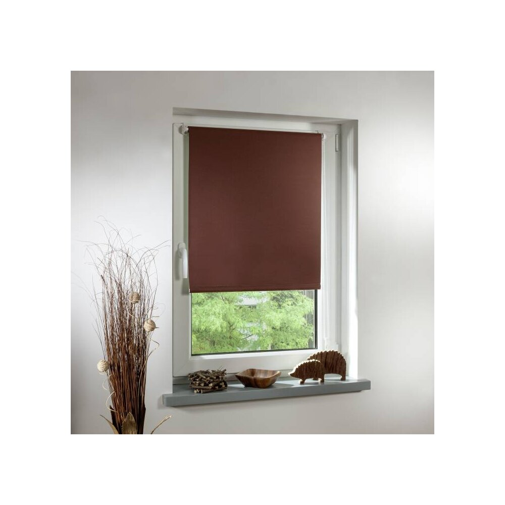 thermo rollo klemmfix braun 80x220 cm lichtblick. Black Bedroom Furniture Sets. Home Design Ideas