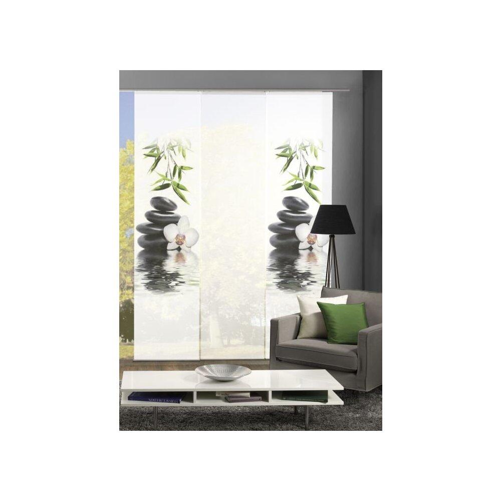 fl chenvorhang 3 er set ruskin g nstig bei wohnfuehlidee. Black Bedroom Furniture Sets. Home Design Ideas