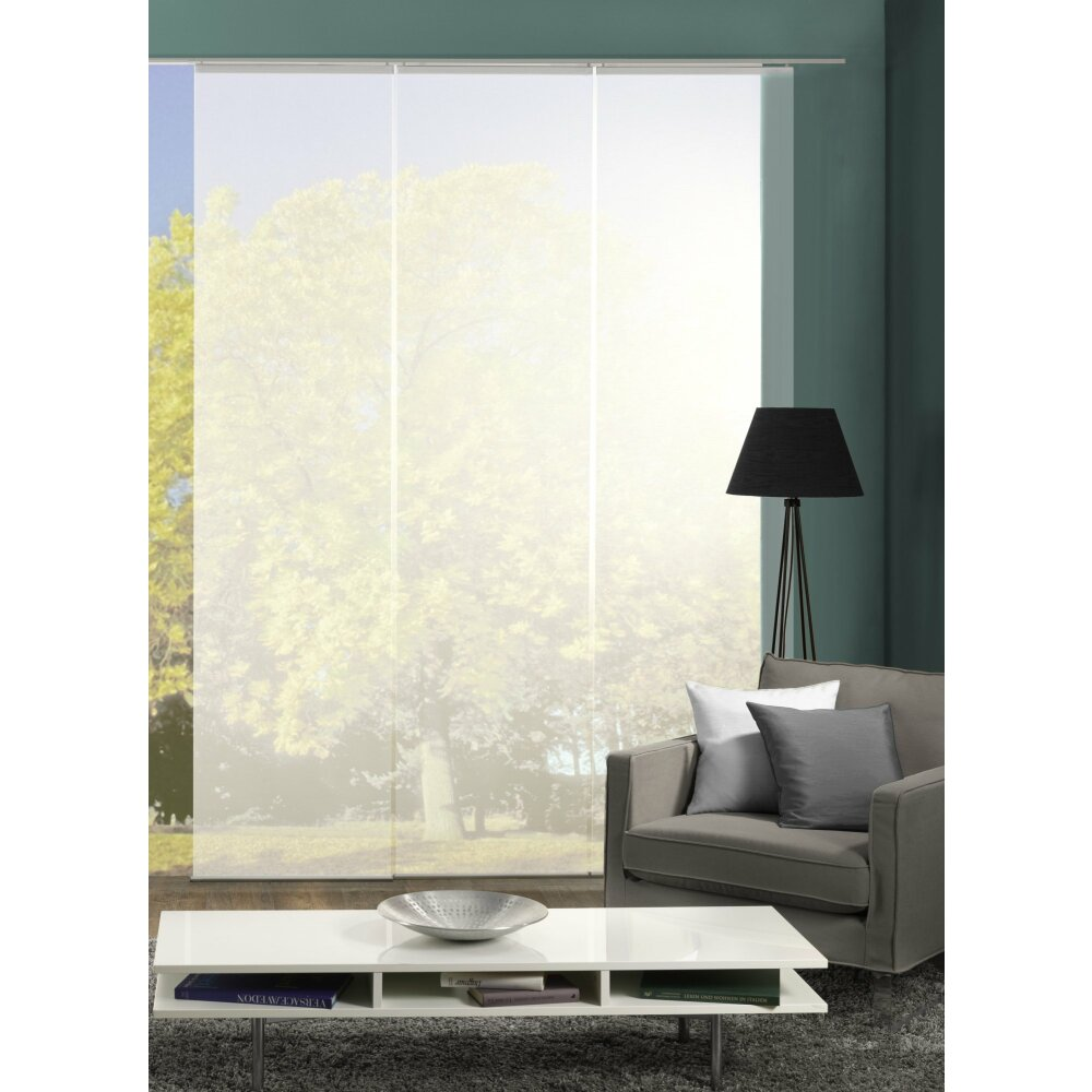 fl chenvorh nge 3er set rom wei transparent. Black Bedroom Furniture Sets. Home Design Ideas