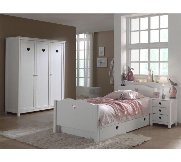 Vipack Kinderzimmer-Set Amori, 4-teilig | Wohnfuehlidee