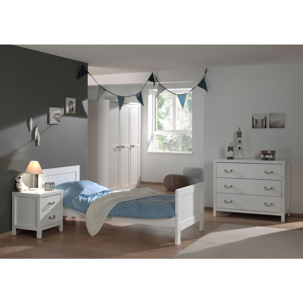 vipack kinderzimmer set lewis 4 teilig wohnfuehlidee. Black Bedroom Furniture Sets. Home Design Ideas