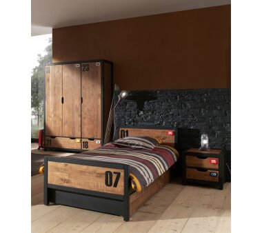 Vipack Kinderzimmer-Set Alex, 4-teilig, bestehend aus...