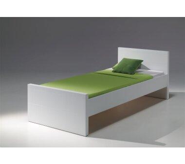 Vipack Einzelbett Lara, 90 x 200 cm, weiß