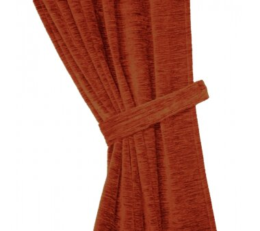Raffhalter Chenille (1Stck.), Schlauchform mit Ringen, rost