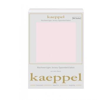 Kaeppel Single Jersey Spannbettlaken mit Elasthan, Fb. rose