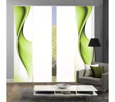 schiebegardine set 4 er ufa pink g nstig kaufen. Black Bedroom Furniture Sets. Home Design Ideas