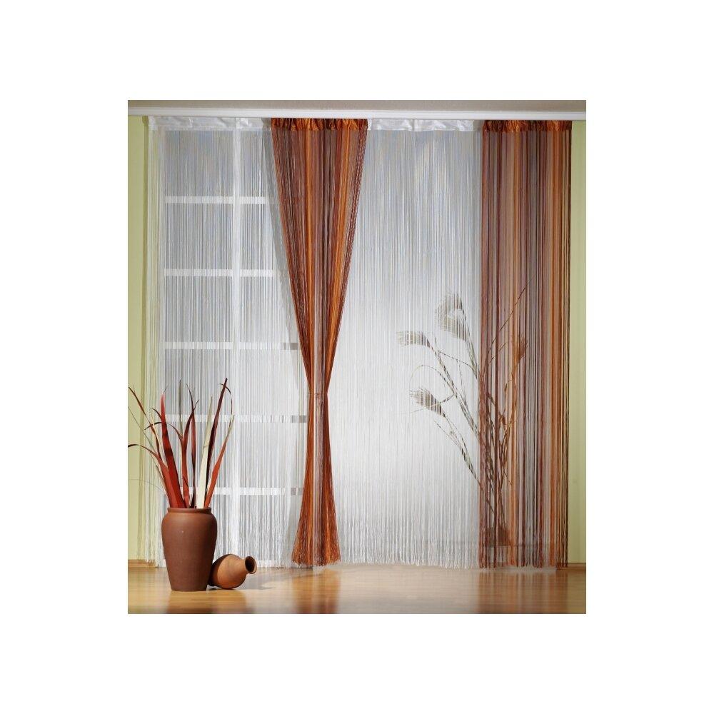 fadenvorh nge fadengardinen bequem online bei. Black Bedroom Furniture Sets. Home Design Ideas