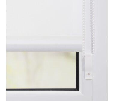 Lichtblick Klemmträger und Zubehör Montage-Set für Klemmfix Duo-Rollo KDR - weiß