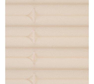 Lichtblick Plissee Klemmfix, ohne Bohren, verspannt - creme 60 cm x 210 cm (B x L)