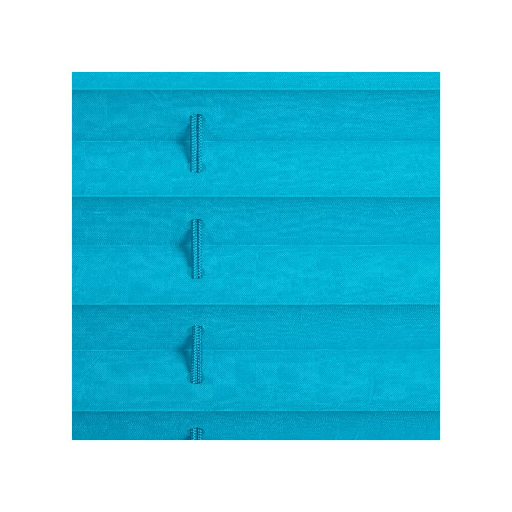 plissee faltstore blau 60x210 cm verspannt. Black Bedroom Furniture Sets. Home Design Ideas