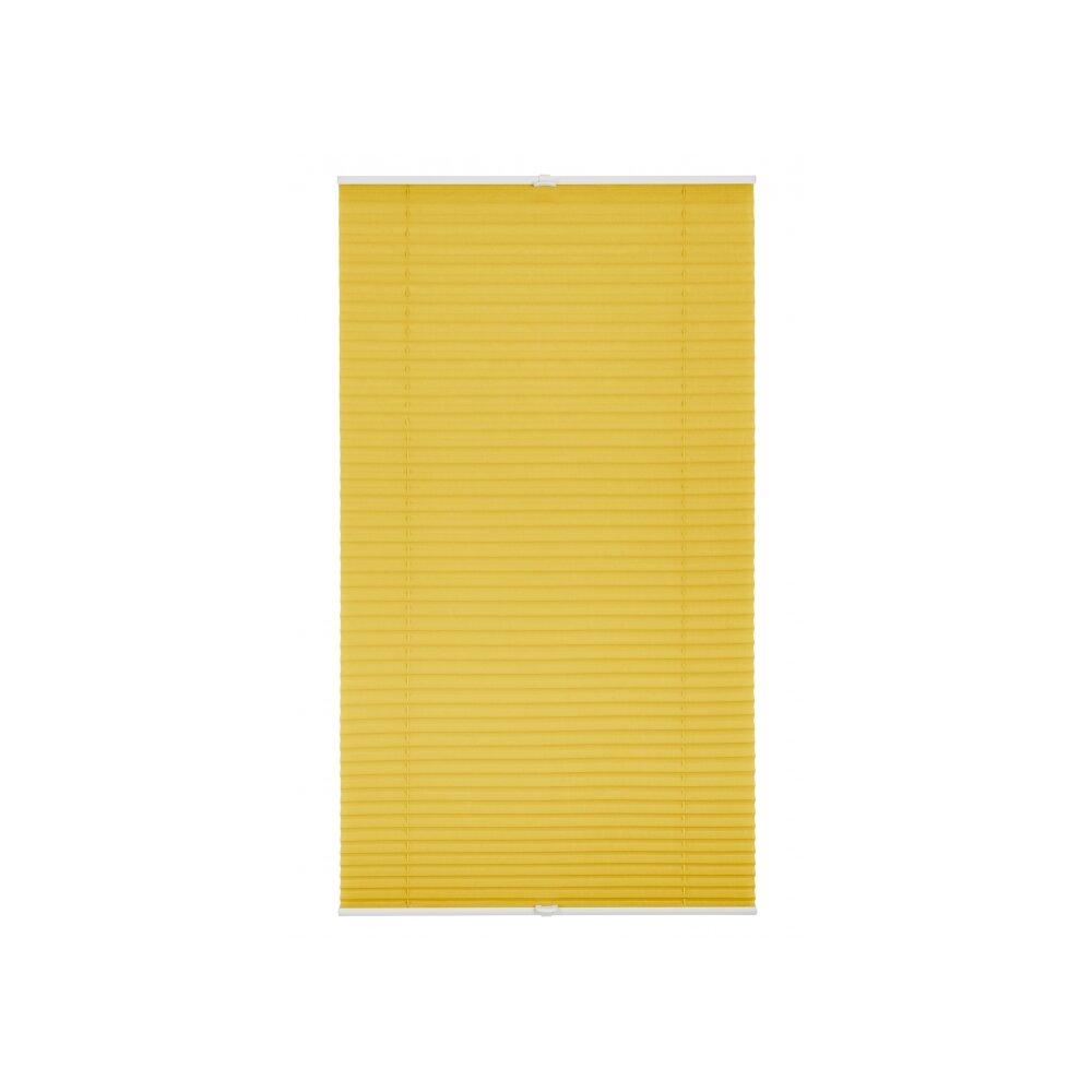plissee faltstore gelb 70x210 cm verspannt. Black Bedroom Furniture Sets. Home Design Ideas