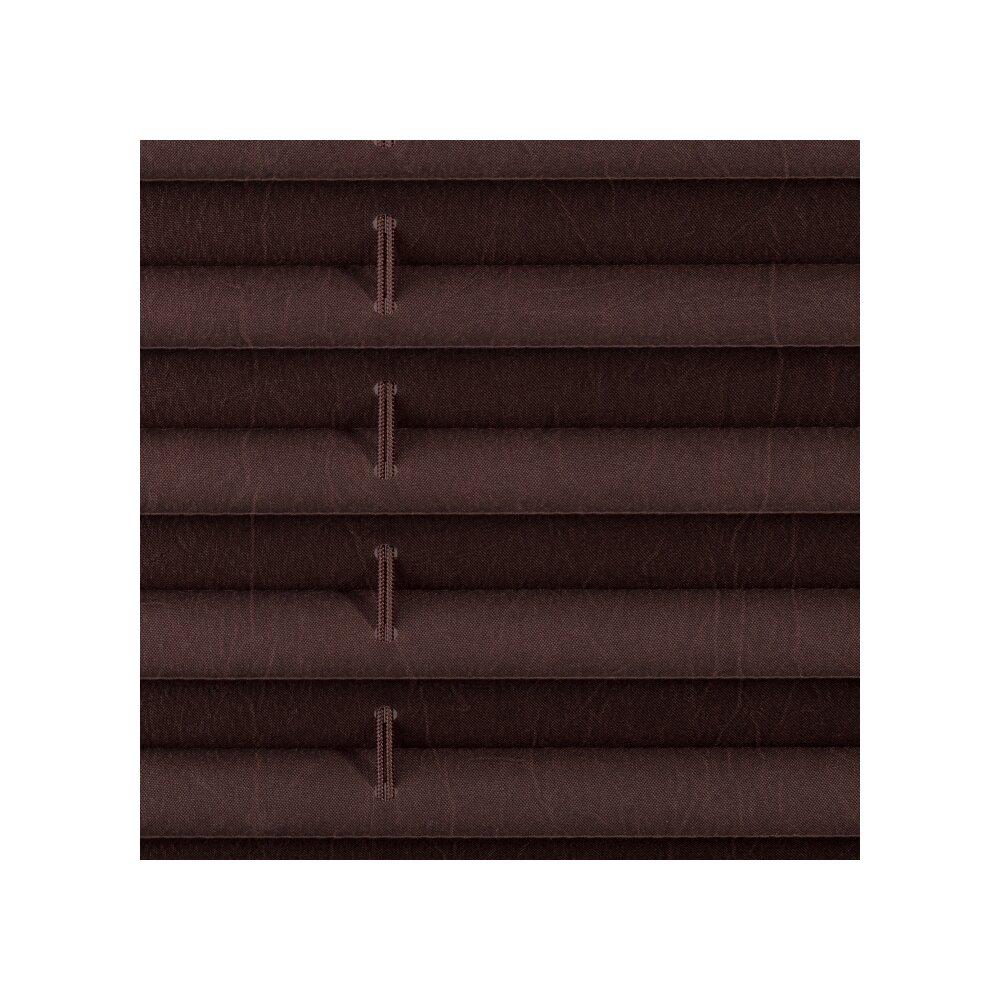 plissee faltstore braun 70x210 cm verspannt. Black Bedroom Furniture Sets. Home Design Ideas