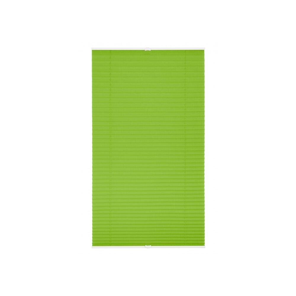plissee faltstore gr n 75x130 cm verspannt. Black Bedroom Furniture Sets. Home Design Ideas