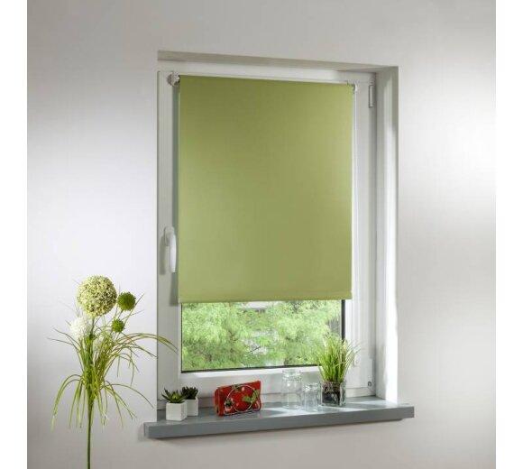beste Wahl Bestbewertet echt hoch gelobt Thermo-Rollo Klemmfix grün 70x150 cm - Lichtblick