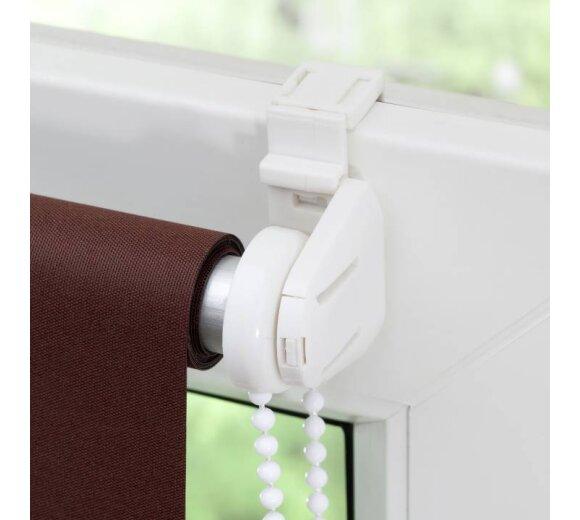 thermo rollo klemmfix braun 70x150 cm lichtblick. Black Bedroom Furniture Sets. Home Design Ideas