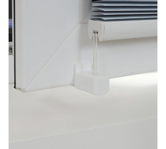 plissee klemmfix plissee liedeco wei verspannt g nstig. Black Bedroom Furniture Sets. Home Design Ideas
